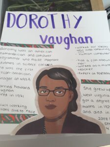 Dorothy Vaughan artwork